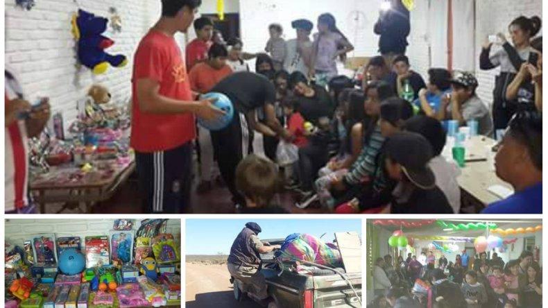 Hace 10 años llegan con alimentos y juguetes Cona Niyeu, este año necesitan tu ayuda
