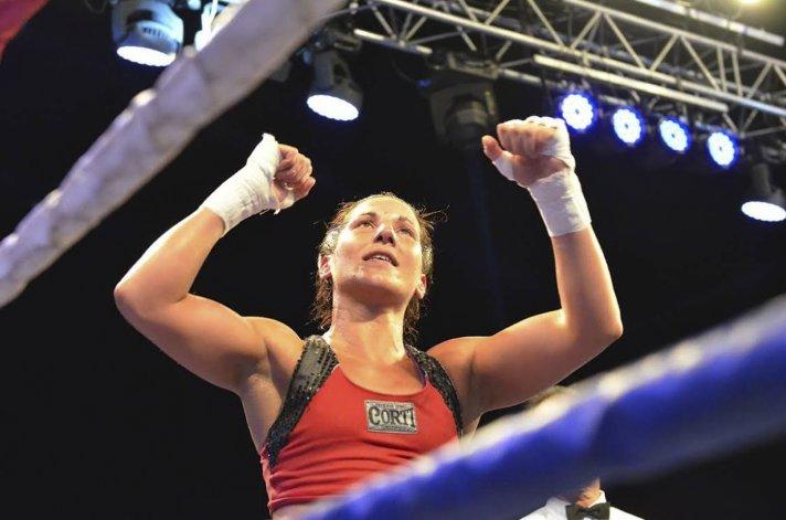 La boxeadora Soledad Matthysse también será premiada mañana.