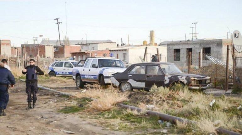 El homicidio se produjo en la zona de asentamientos de Kilómetro 8.