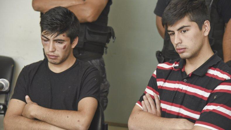 Axel y Gustavo Llantén fueron imputados por el homicidio del limpiavidrios y pasaron dos meses en prisión preventiva.