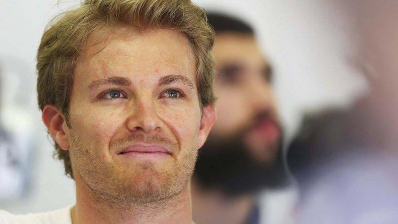 Nico Rosberg viene de consagrarse campeón mundial en la Fórmula 1.