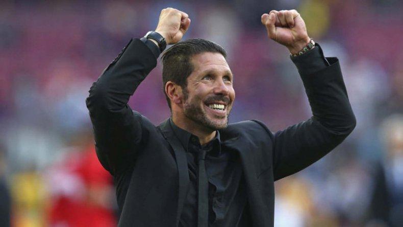 El Cholo Simeone fue elegido como el mejor técnico de 2016