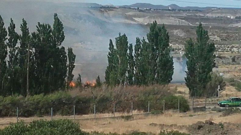 La demora de los Bomberos el pasado 30 de noviembre hizo que sean los vecinos los primeros en tener que controlar el fuego.