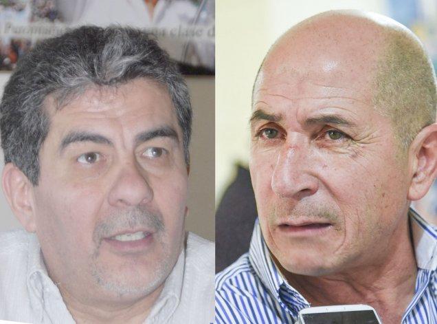 Jorge Taboada y José Llugdar