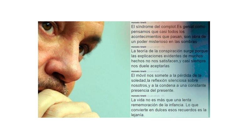 Los tuits reflexivos de Marcelo Tinelli