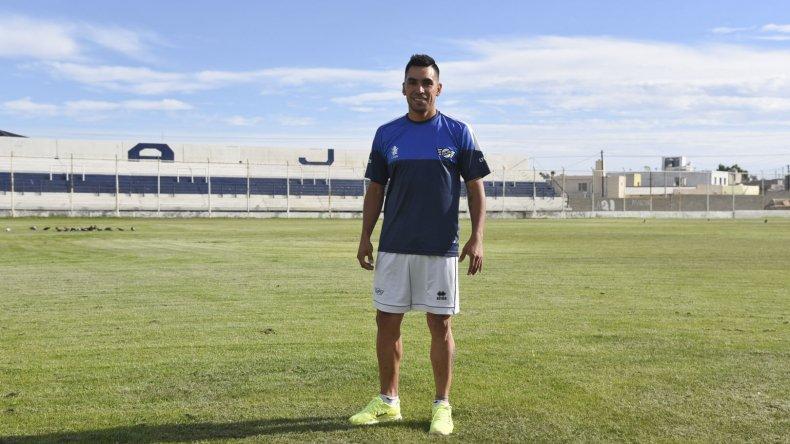 Volver a casa. Jorge Aynol confirmó su nueva vinculación con Newbery anteanoche. Ayer ya cumplió su primer entrenamiento.