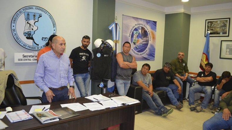 José Llugdar junto a Jorge Avila explicará hoy en forma pública los resultados de las últimas gestiones.