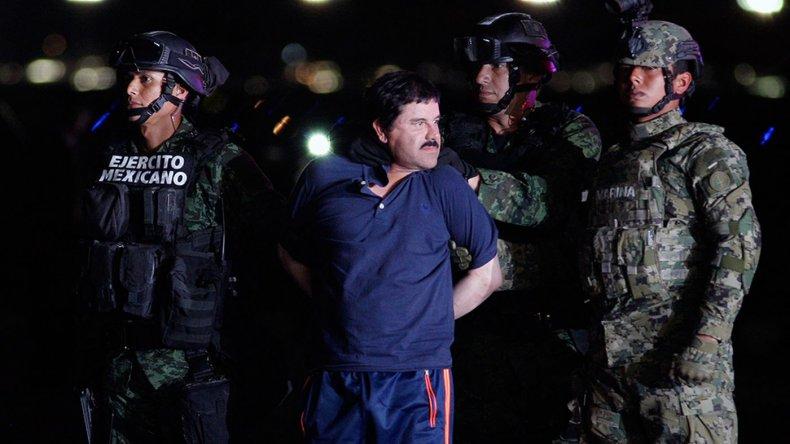 El señor de la droga Joaquín Guzmán Loera