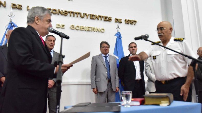 Das Neves ratificó al Jefe de la Policía en su cargo