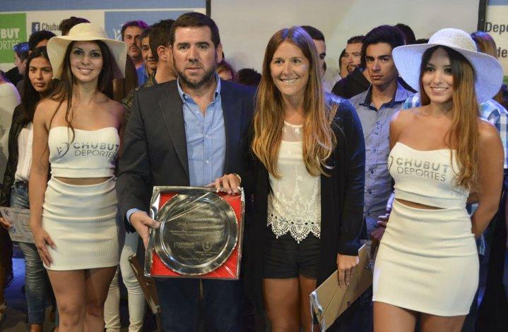 La madrinense Julia Gomes Fantasia fue reconocida por su participación en Las Leonas.