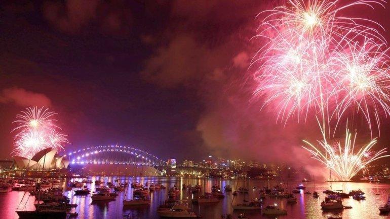 El Año Nuevo ya llegó a varios países del globo