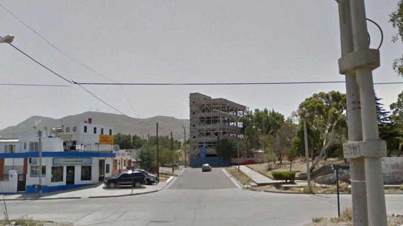 Intersección de las calles Juan de Garay y Figueroa Alcorta