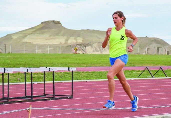 Natalia Robledo inició su relación con el atletismo de grande