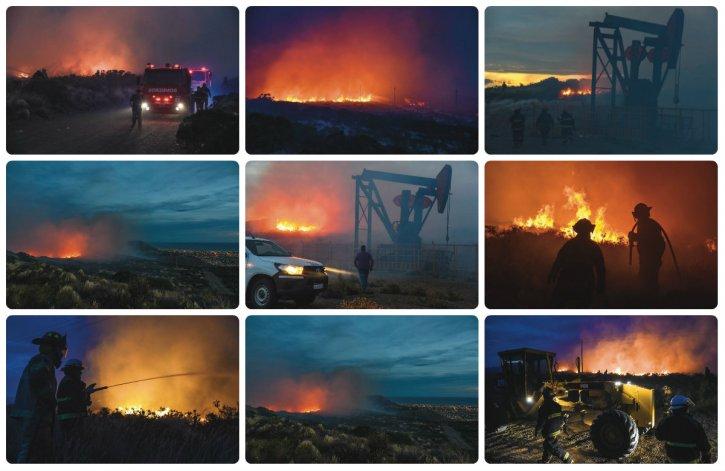 El uso de pirotecnia causó importantes incendios