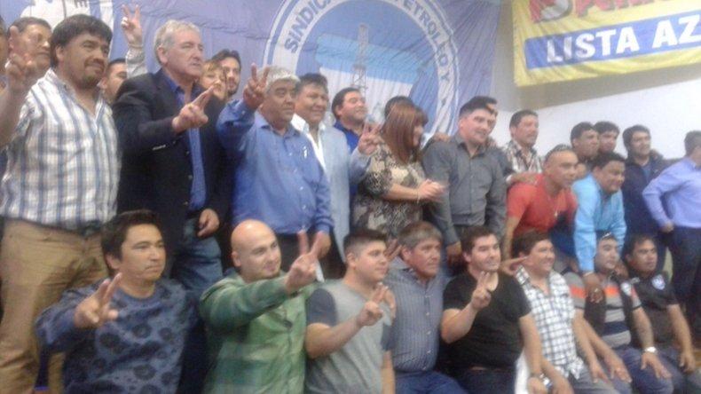 Se formalizó la conducción del Sindicato Petroleros de Chubut