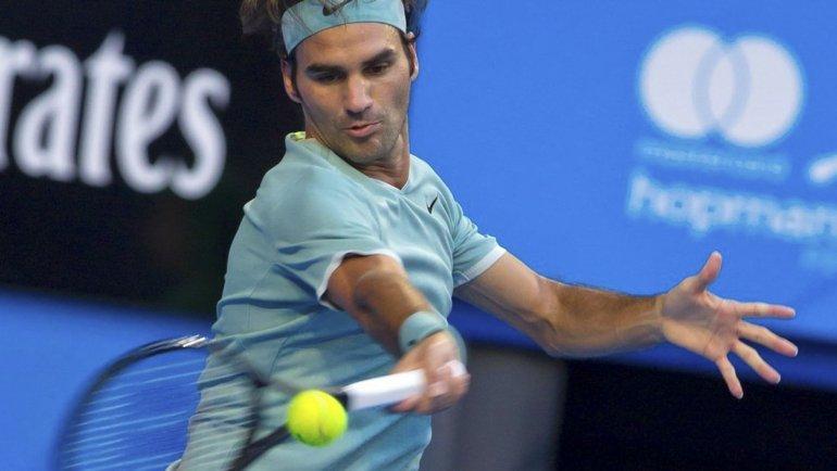 El suizo Roger Federer regresó con todo en el circuito de la ATP.