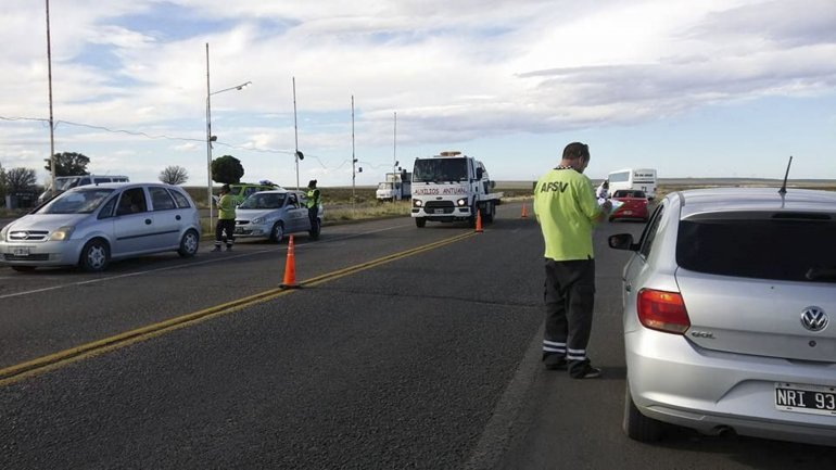 La Agencia de Seguridad Vial  secuestró 19 vehículos por  alcoholemia en el valle