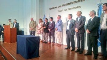 Asumieron cinco funcionarios nuevos en el Gabinete Provincial