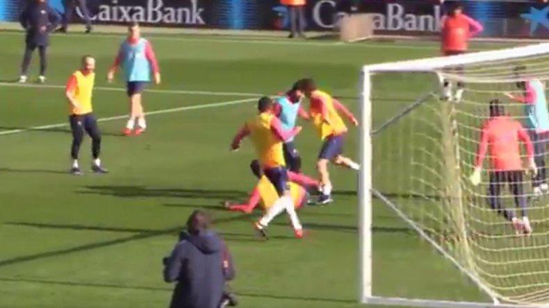 Mirá el primer golazo de Messi en este 2017