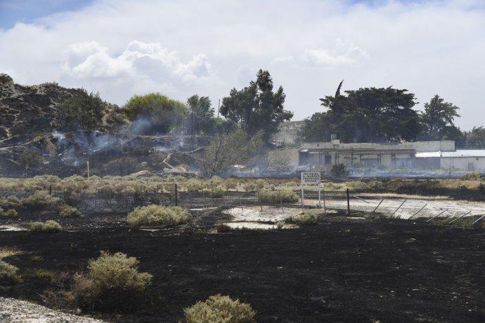 Seguidilla de incendios en zona norte de Comodoro