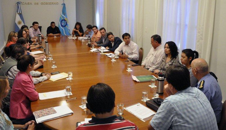 Pablo Durán mantuvo durante la tarde de ayer su primera reunió con sus colaboradores como ministro de Gobierno.