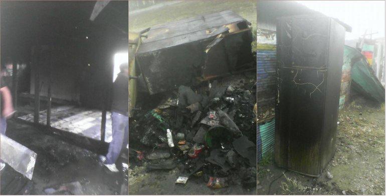 Una familia del B° San Cayetano perdió todo en un incendio