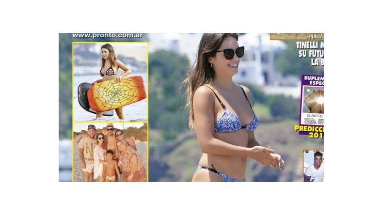 Lali Espósito mostró su lomazo en bikini