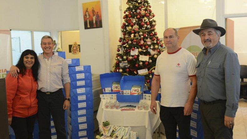 La donación fue realizada ayer por la Secretaría de Salud Municipal.