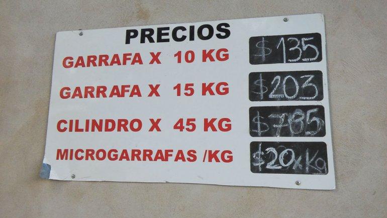 Desde ayer Surgas incrementó el precio del gas envasado en un 12
