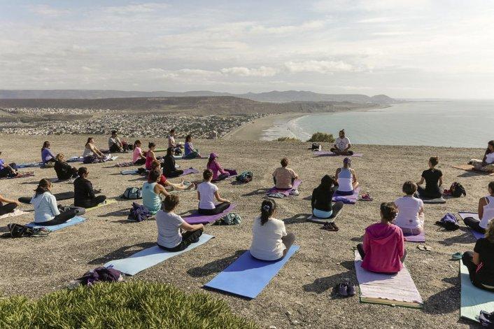 Las clases gratuitas de yoga