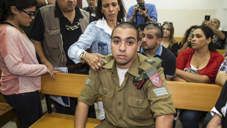 El soldado israelí Elor Azaría