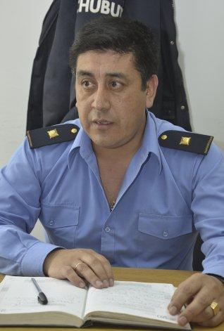 Humberto Lienan fue confirmado al frente de la Unidad Regional de Policía de Comodoro Rivadavia.