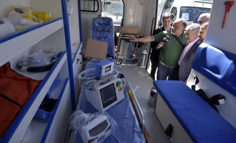 Los hospitales de la provincia incorporan 7 modernas ambulancias