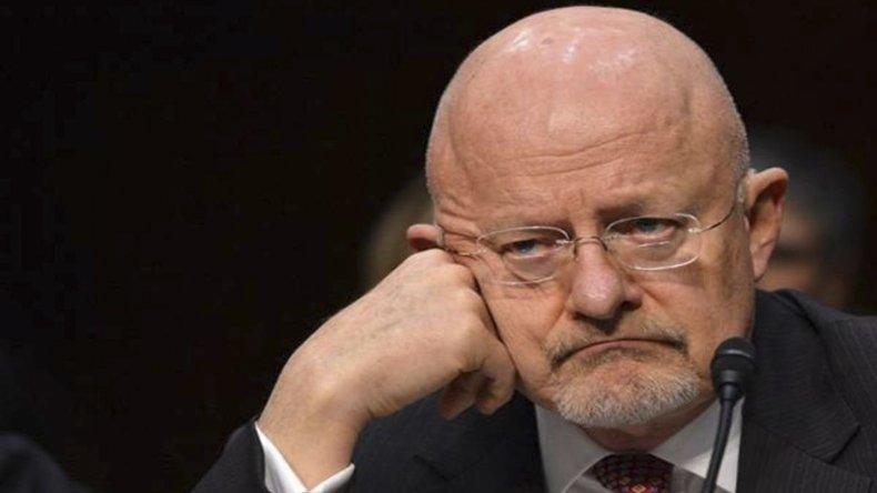 James Clapper acusó a Rusia de hackear cuentas de email de la cúpula demócrata.