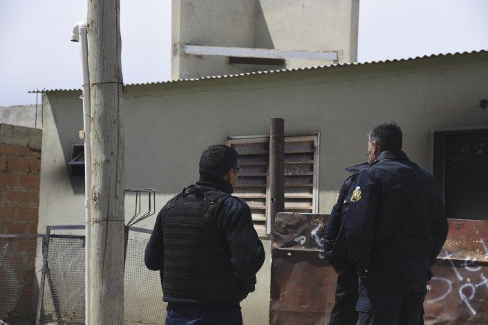 La vivienda donde se produjo el ataque.