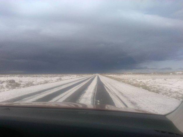 La nieve sigue sorprendiendo a la Patagonia en pleno verano