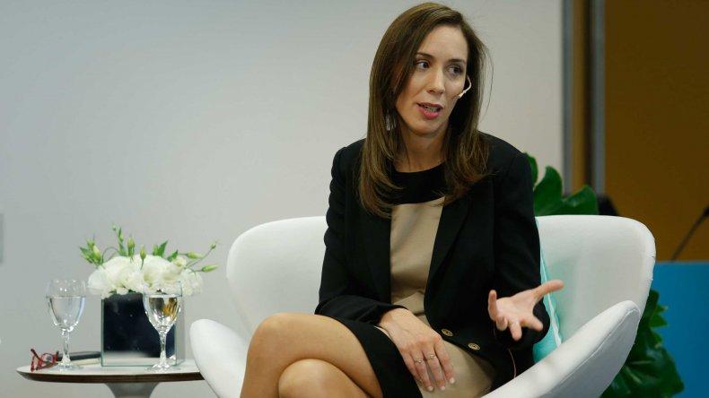 Vidal se defendió: los bonaerenses han hecho un esfuerzo por el país
