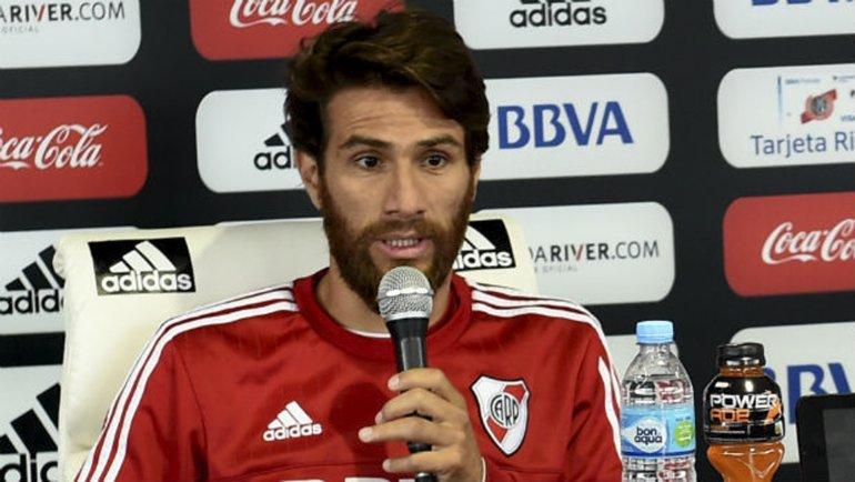 Leonardo Ponzio expresó su deseo de terminar su carrera deportiva en River.