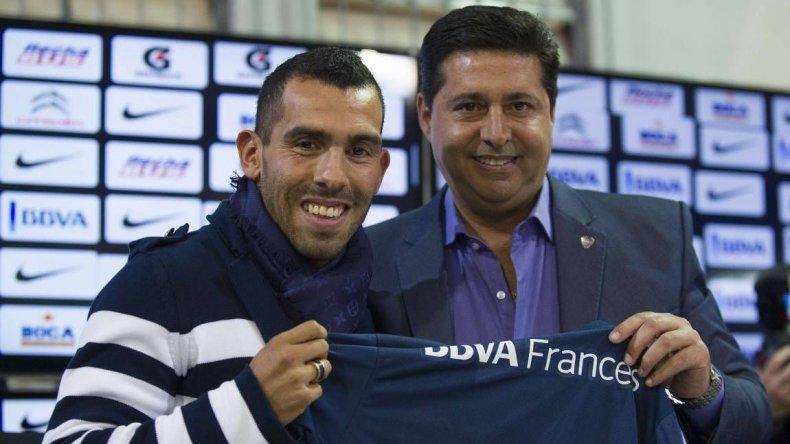 Tevez va a terminar su carrera en Boca
