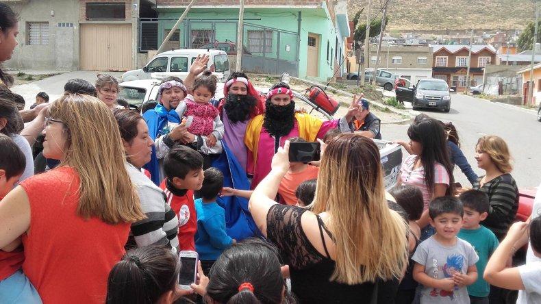 Los Reyes Magos visitarán barrios de Zona Norte