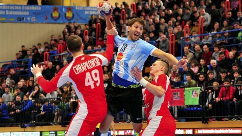 La selección argentina de balonmano se despidió del torneo internacional de Irún con un empate frente a Polonia.
