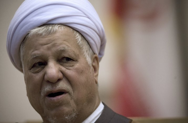 El ex presidente iraní Akbar Hashemi Rafsanyani