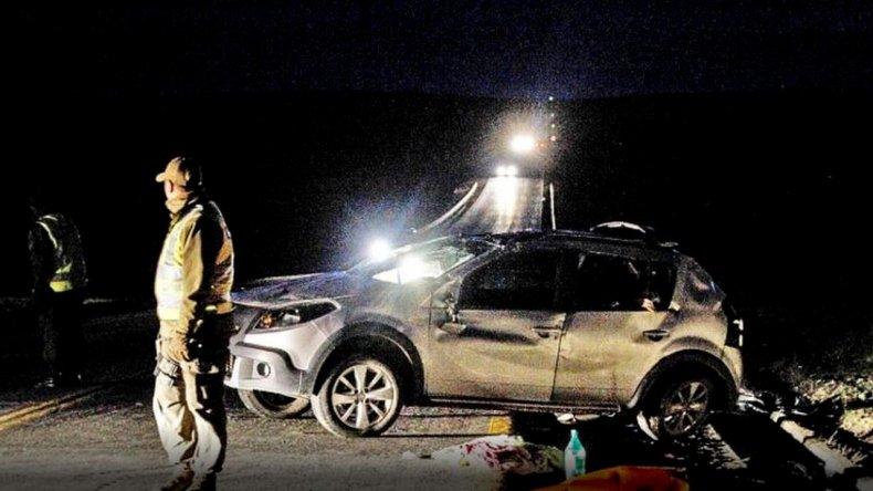 Murió una mujer al volcar cuando viajaba desde Ushuaia a Comodoro