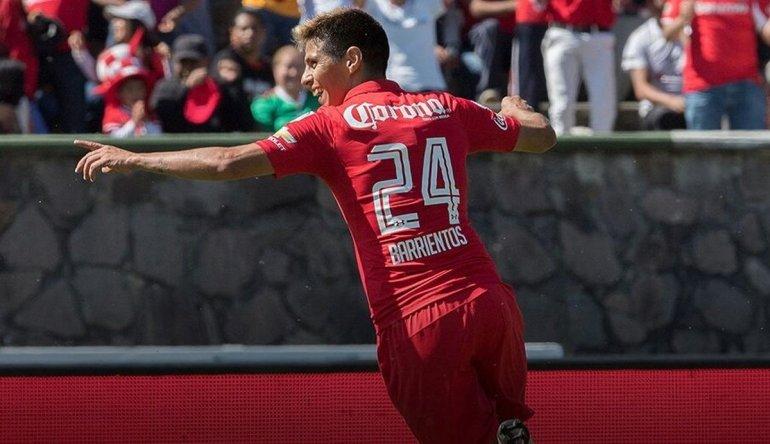 Pitu Barrientos comenzó el 2017 con un gol