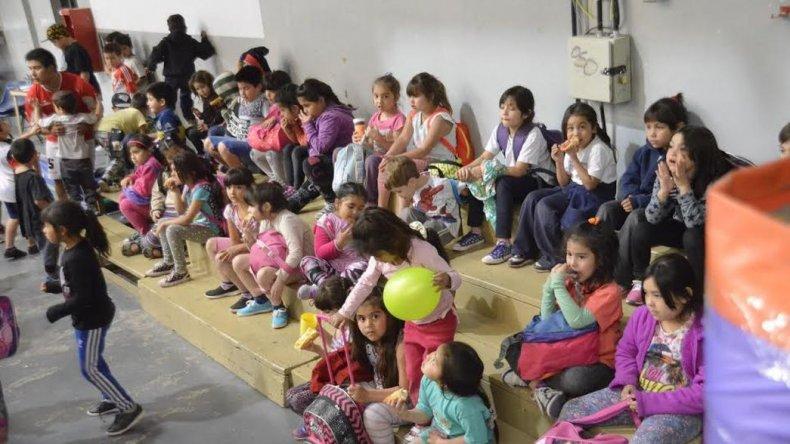 Casi 400 chicos asistieron al primer día de Patio Abierto