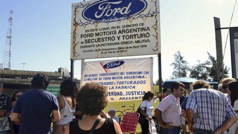 En los tribunales federales de San Martín se celebrará el juicio oral y público por el secuestro y desaparición de trabajadores de la automotriz Ford