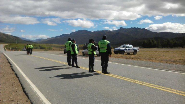 Gendarmería cortó la Ruta 40: hay 3 detenidos