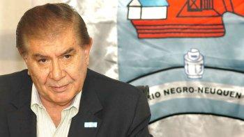Guillermo Pereyra, secretario general del sindicato de petroleros de base de la Cuenca Neuquina y senador nacional.