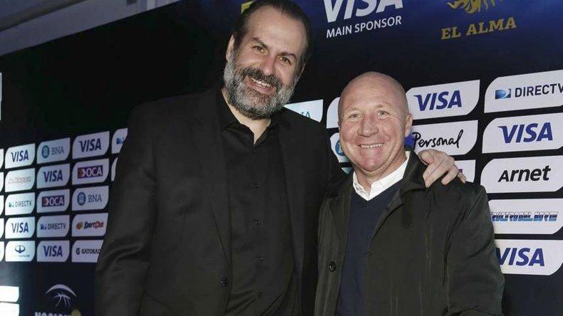 Federico Susbielles y Carlos Mac Allister en representación de la Argentina estarán presentes esta tarde en el acto que se realizará en el CeNARD.