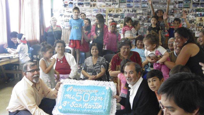 Entre fines de diciembre y principios de este mes el barrio San Martín festejó con propuestas culturales sus 50 años de historia.